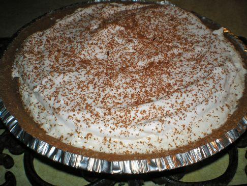 White Chocolate Hazelnut Pie
