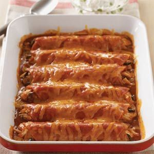 JASONZ's Cheesy Beef Enchiladas