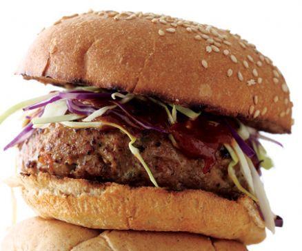 Turkey Gorgonzola Burgers
