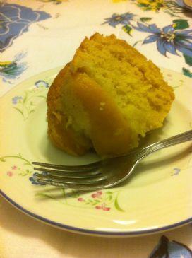 Peach & Pumpkin Cake