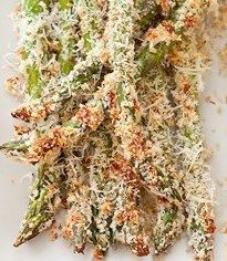 Parmesan Crusted Baked Asparagus