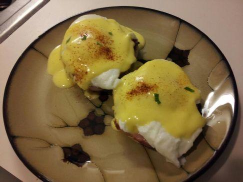 Low Cal Eggs Benedict