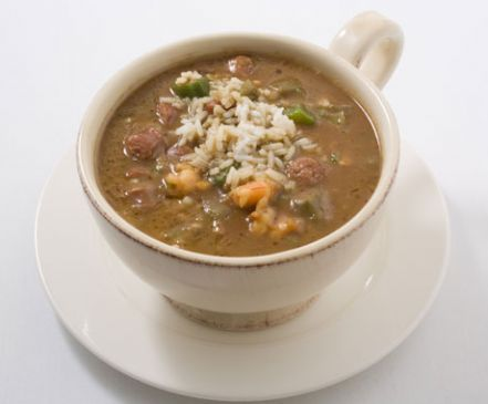 Shrimp and Andouille Gumbo