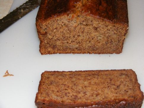 Greek Yogurt and Applesauce Banana Bread