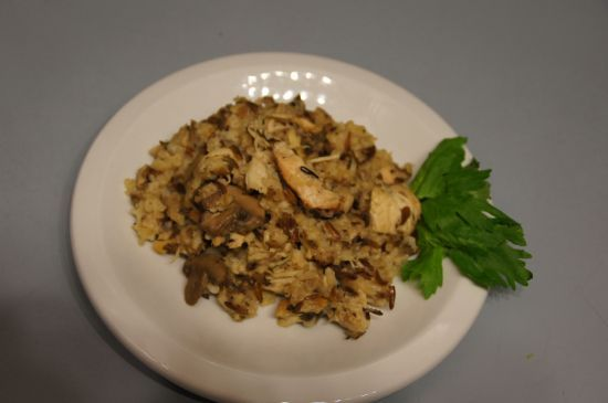 Kelly's Wild Rice Hot Dish for Crock Pot