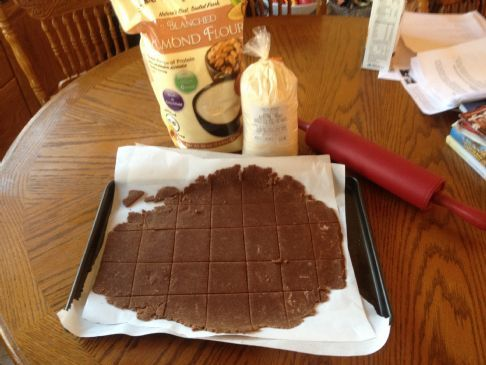 Low Carb Graham Crackers