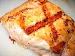 Grilled Garlic Lemon Salmon