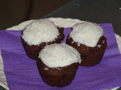 Black Bean Mini Chocolate Cupcakes Recipe | SparkRecipes