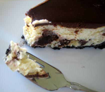 Brownie Mosaic Cheesecake