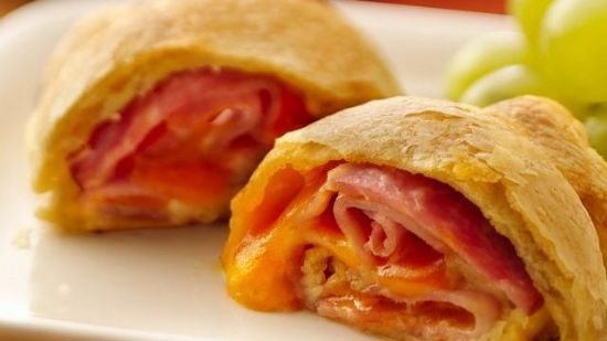 Ham and Cheese Crescent Rolls