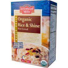 Arrowhead Organic Rice and Shine Rice Pudding