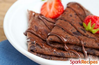 Chocolate Brownie Pancakes