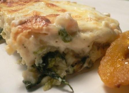 Lasagna Spinach Alfredo by Kris
