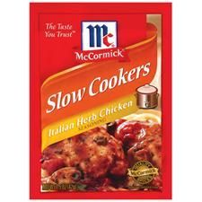 Slow Cookers Italian Herb Chicken Seasoning
