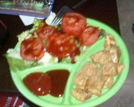 Healthy, high fiber, Chicken Nuggets