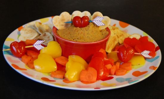 Roasted Pepper Hummus
