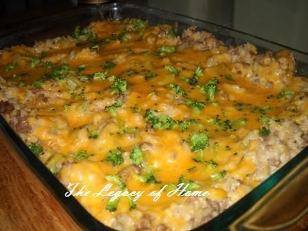 Brown Rice Casserole