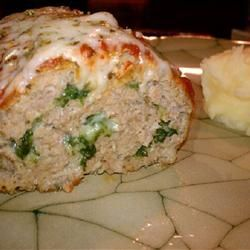 Spinach & Cheese Pinwheel Loaf