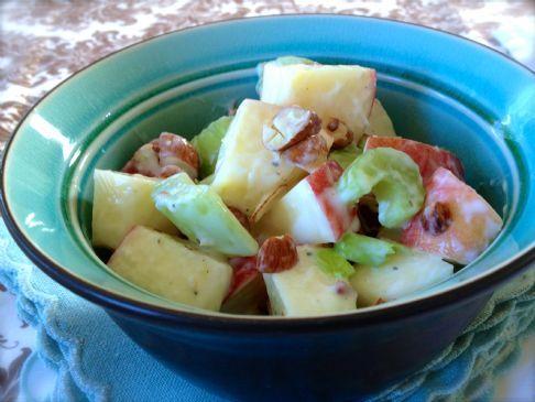 Apple Celery Horseradish Salad