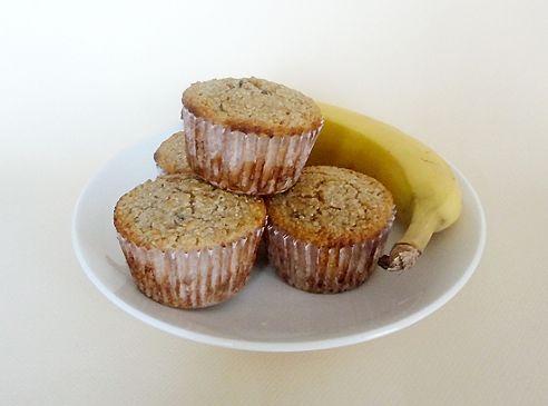 Banana-Nut Oat Bran Muffins