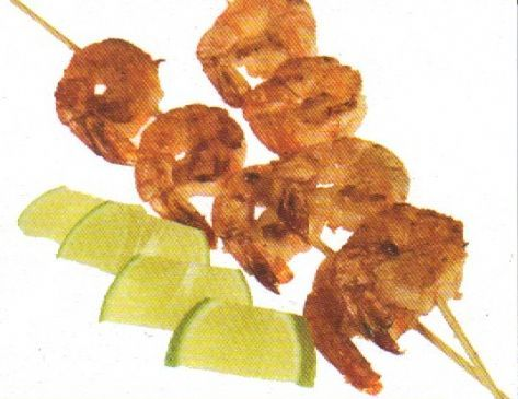 Chili-Lime Chicken & Shrimp Kabobs