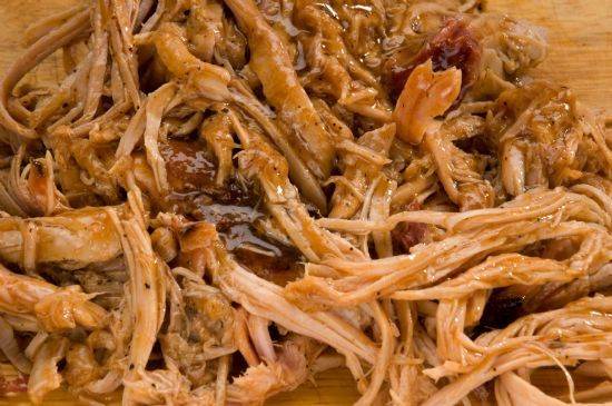 BBQ Pulled Pork (Crockpot)
