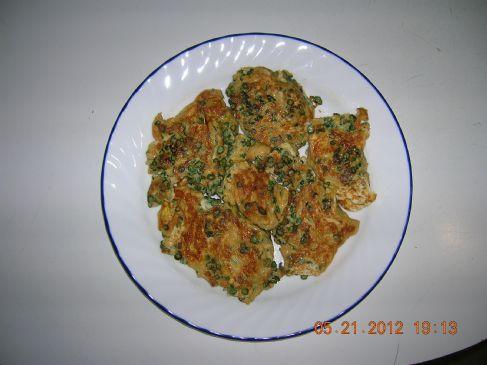 Chinese Long Beans Omelette