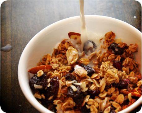 Homemade Granola Cereal