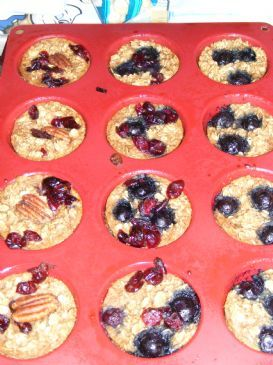 Personal Baked Oatmeal Muffins