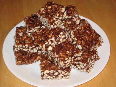 Puffed Wheat Squares with Splenda Brown Sugar Blend