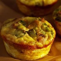 Mushroom Breakfast Quiche