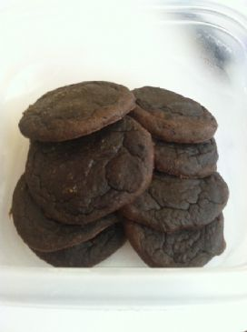 Chocolate Black Bean Cookies