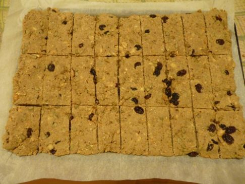 Home made cereal bars