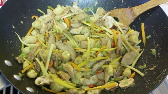 Chinese Chicken and Vegetables