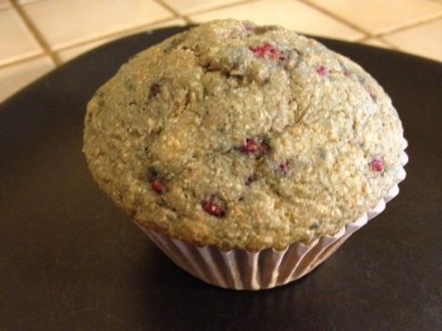 Raspberry Breakfast Muffins