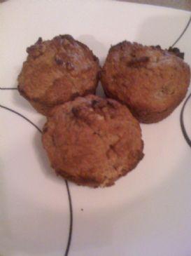Banana Nut Bran Muffins