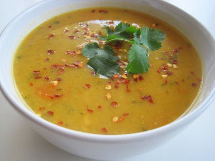 Red Lentil Soup (Pressure Cooker)