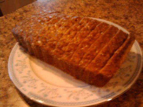Spiced and Glazed Apple Cake