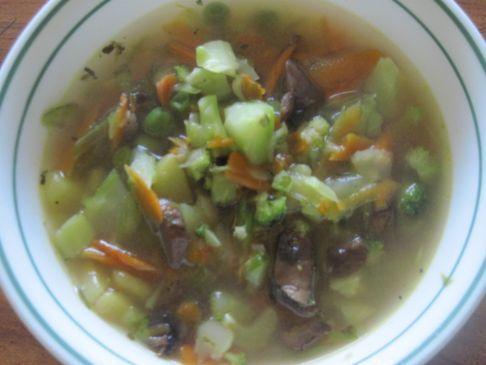 No Meat Sweet Potato Veggie Winter Soup
