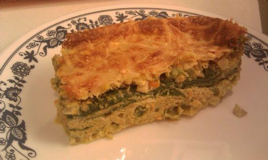 Omelet - Organic - Baked Spinach