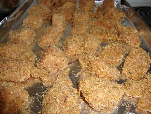 Pecan Crusted Chicken Nuggets