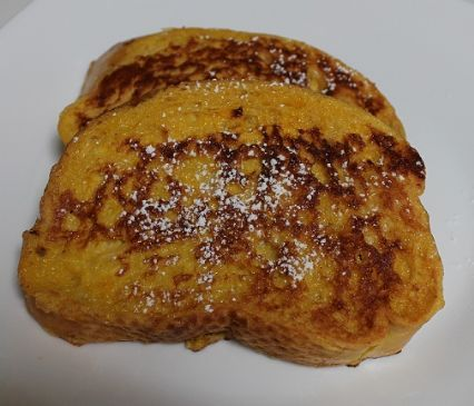 Golden French Toast (Mom's 5th Grade Cooking Class)