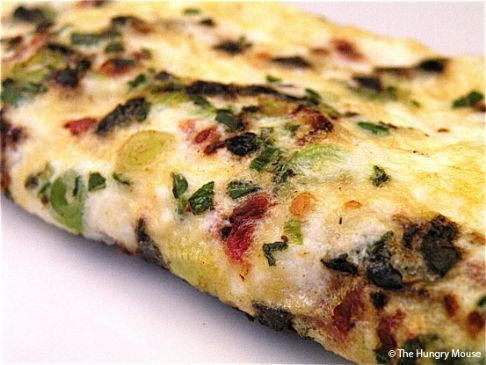 Mexican Style Egg White Omelette