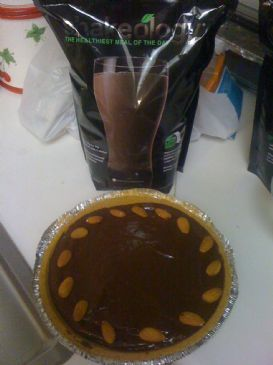 Chocolate Peanut Butter Banana Shakeology Pie