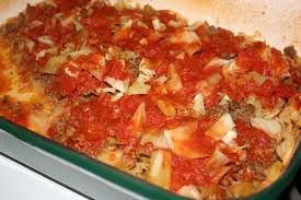Beef Cabbage Bake