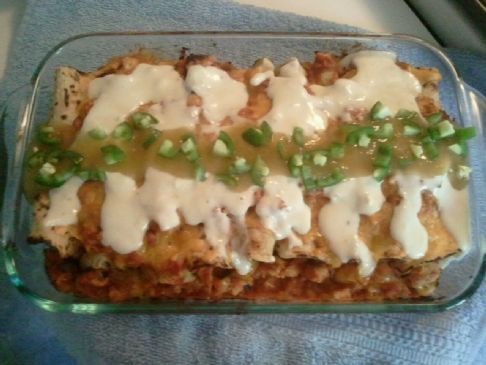 Trish's Mexican Celebration Enchiladas