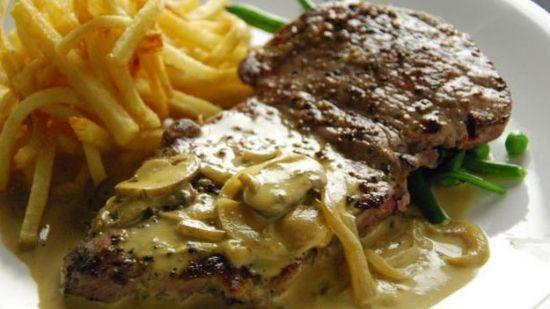 Sirloin Steak Diane