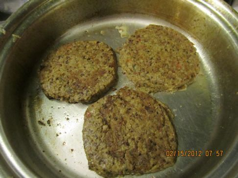 Quinoa Double Bean Patties