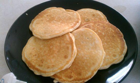 Fruity Wheat Pancakes