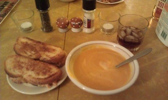 Creamy Pumpkin and Sweet Potato Soup